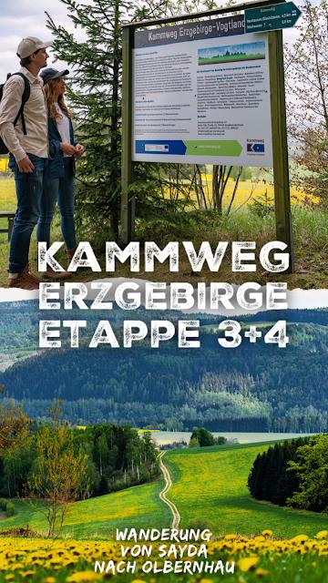 Kammweg Erzgebirge  Etappe 3+4 von Sayda nach Olbernhau  Wandern in Sachsen 31