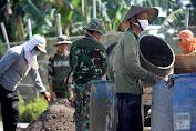 Molen Menjadi Alat Utama Pembangunan Jalan Dalam Pelaksanaan TMMD