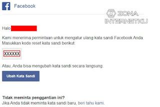 Cara Reset Password Akun Facecbook Dengan Email 3