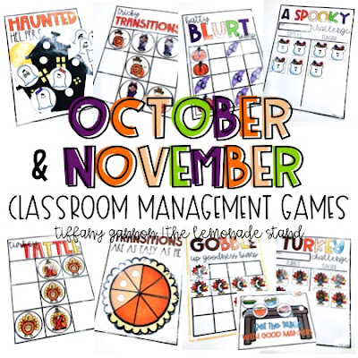 classroom management games