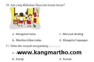 file pertanyaan yang ingin disediakan oleh administrator untuk kesempatan yang dapat Anda √  Soal UAS/PAS Tema 4 Kelas 2 SD K13 Semester 1