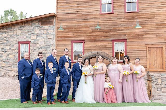 Shenandoah Mill Wedding Bridal Party Photo by Micah Carling Photography