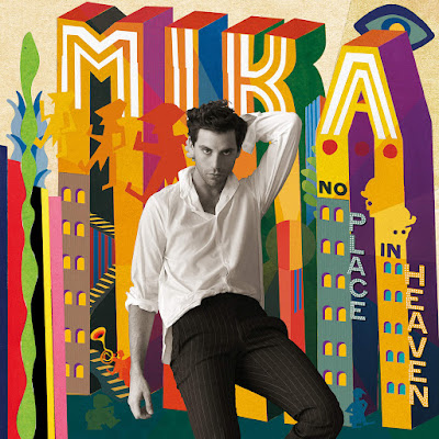 MIka, No Place in Heaven, album cover