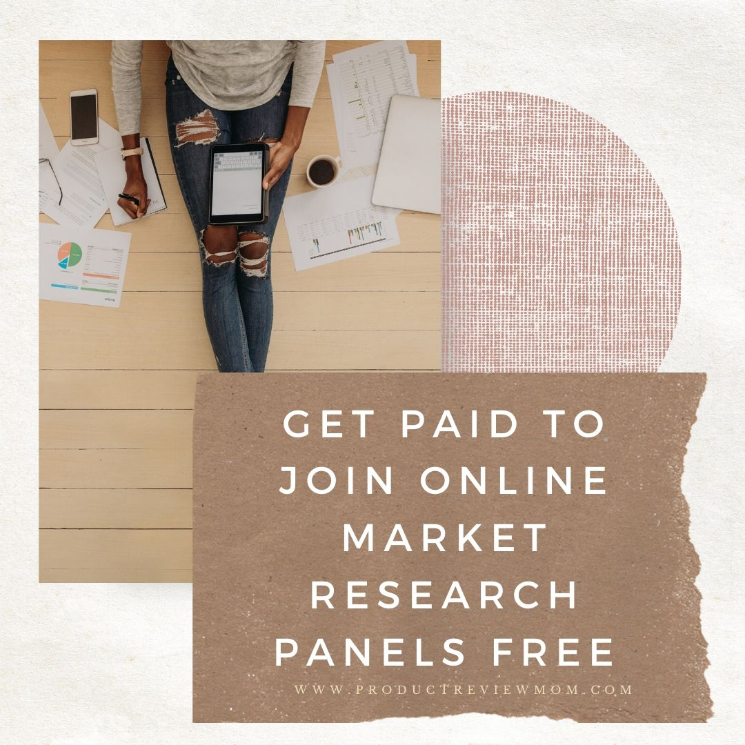 Get Paid to Join Online Market Research Panels Free