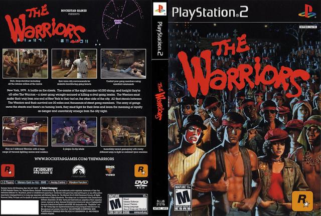 Descargar The Warriors ps2 iso NTSC-PAL: Es un videojuego de 2005 producido por la compañía Rockstar Games y desarrollado por Rockstar Toronto para PlayStation 2, Xbox y PlayStation Portable. El juego está basado en la película homónima de 1979, la cual estaba basada a su vez en la novela homónima de 1965 escrita por Sol Yurick.