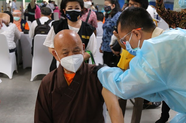 Kemenkes Gelar Pekan Vaksinasi  Tokoh Lintas Agama