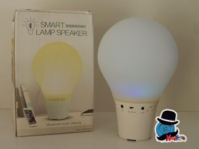 Lampada senza filo con speaker integrato
