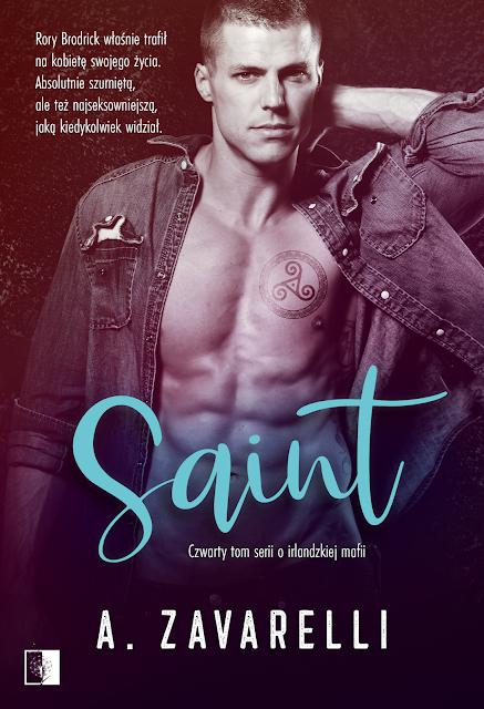 """A. Zavarelli """"Saint"""" z premierą w dniu 6.10.2021 z nakładu Wydawnictwa NieZwykłego"""