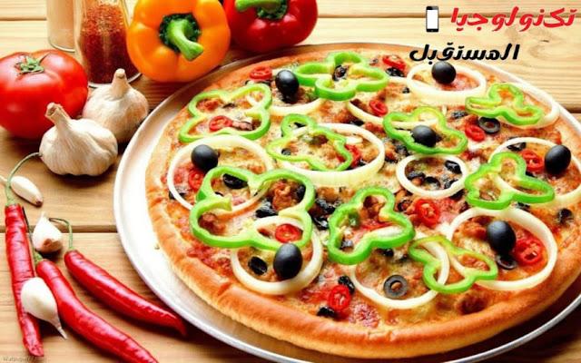 طريقة تحضير البيتزا في المنزل