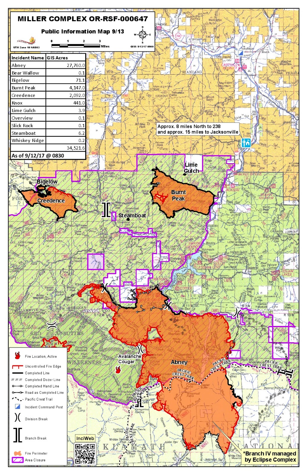 closures are in place for the klamath national forest including a portion of the pacific crest trail