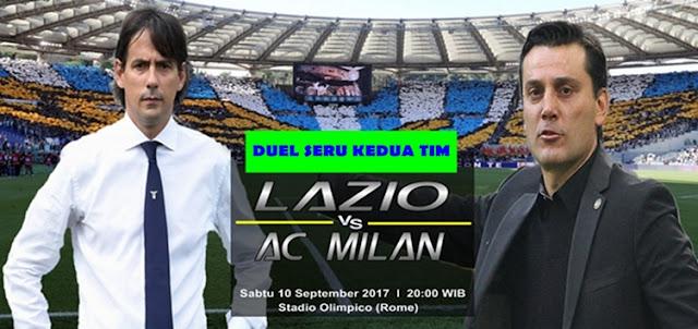 Prediksi Taruhan Bola 365 - Lazio vs AC Milan 10 September 2017