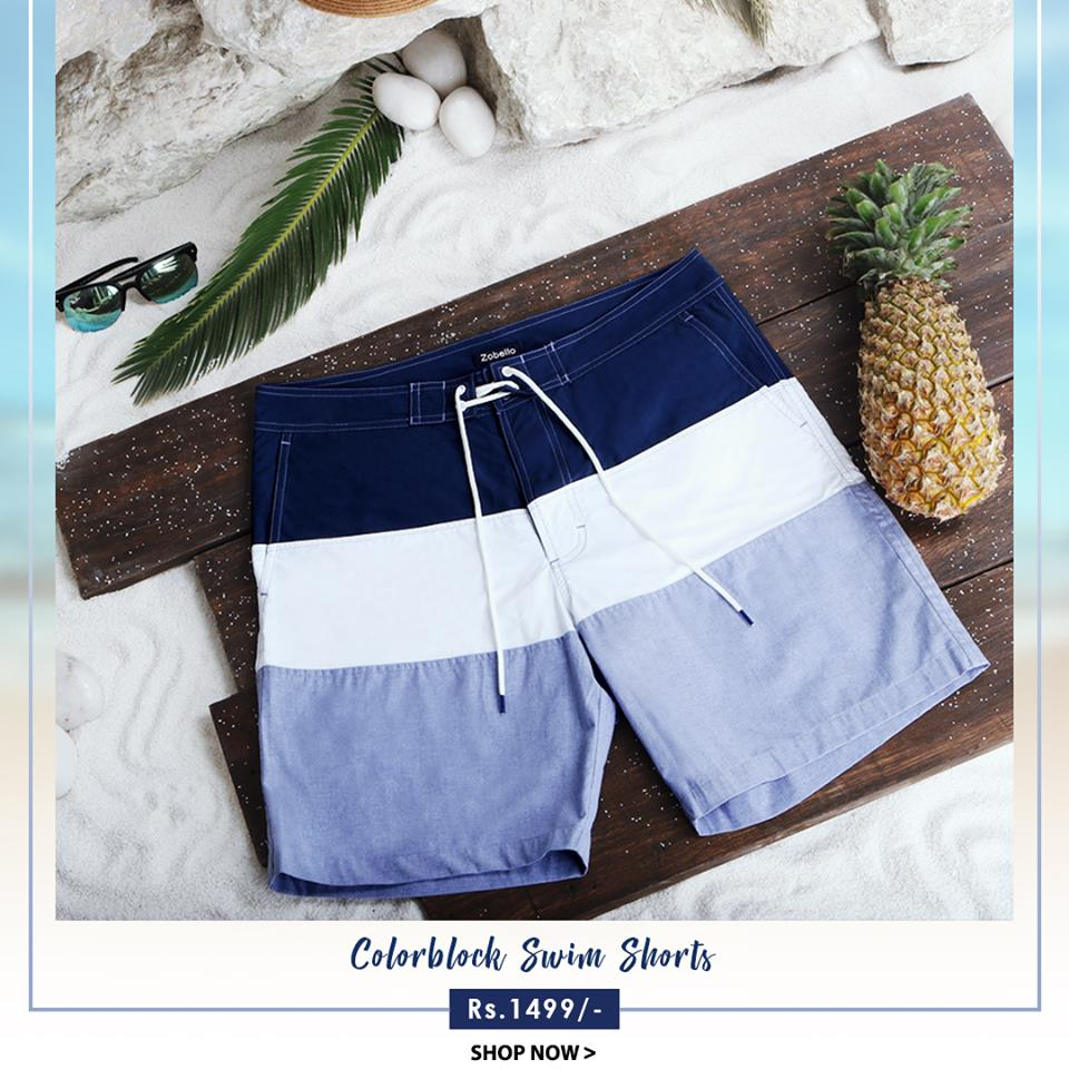 ea8fdcca5d Solid Unique Shades: Nothing can make you look as suave as the pastel solid  shades in summer and the range of solid shaded swim shorts is appropriate  for ...