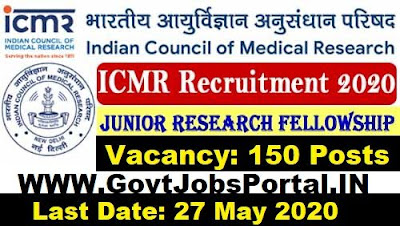 icmr recruitment 2020