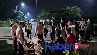 Cegah Perang Petasan dan Balap Liar, Polres Situbondo Melaksanakan Patroli Malam