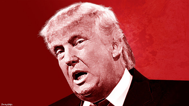 Image Attribute: Donald Trump - Portrait | by DonkeyHotey via Flickr   Creative Commons BY-SA 2.0