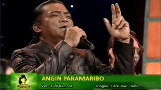 Lirik Lagu Angin Paramaribo - Didi Kempot