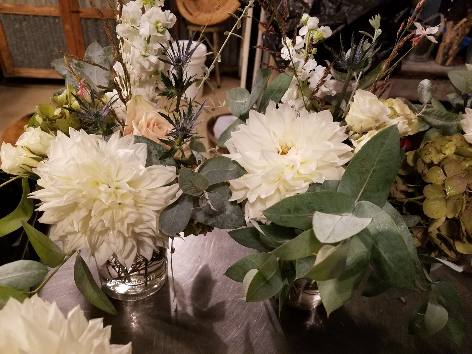 Windmill Farm Wedding Flowers And Knitting For Christmas