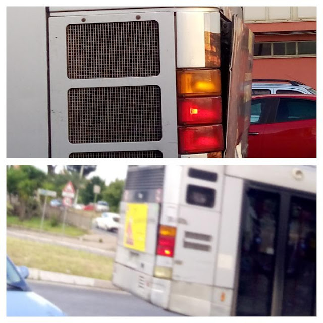 Gli autobus perdono pezzi?
