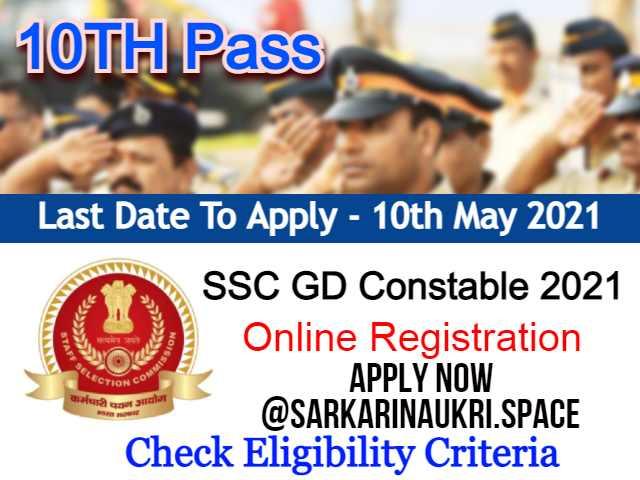 SSC GD Constable 2021