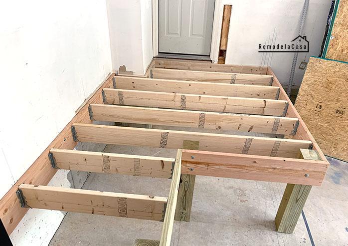 garage mudroom