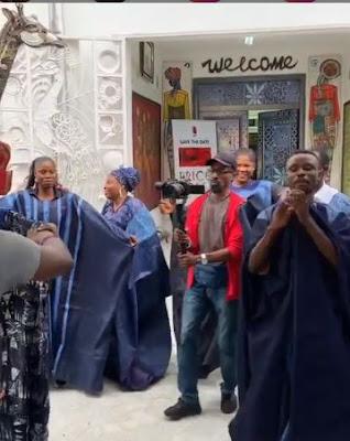 Tamar Braxton Dressed In Traditional Attire With Nigerian Boyfriend, David Adefeso In Nigeria (VIDEO)