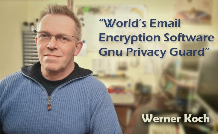 GnuPG Email Encryption Project Relies on 'Werner Koch', and He is Running Out of Funds