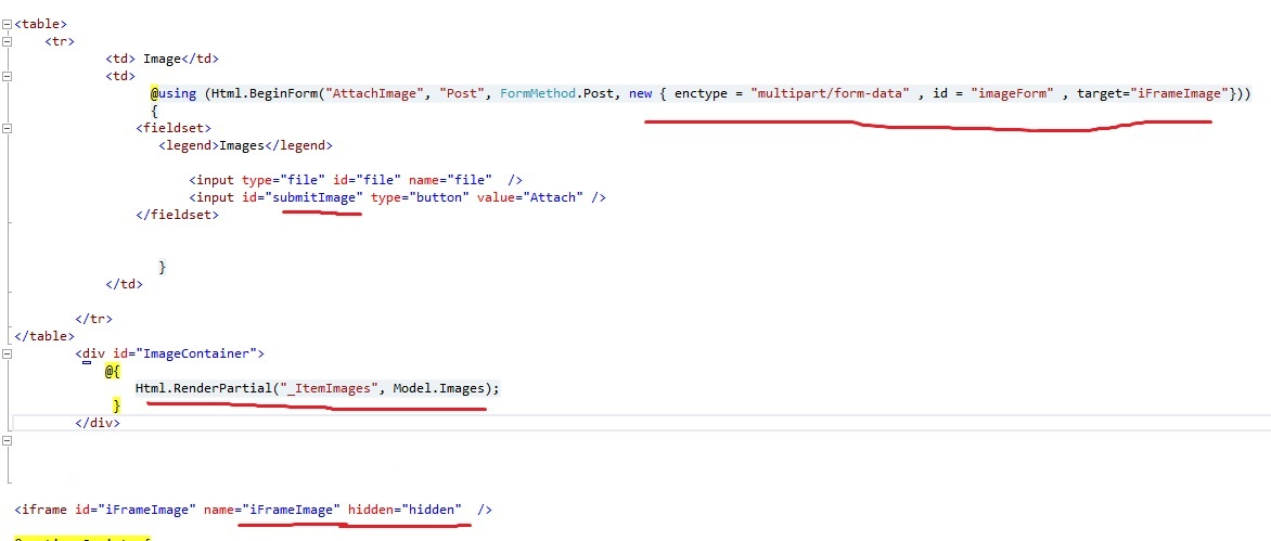 Life, Tech, and more   : AJAX File Upload in MVC using IFrame