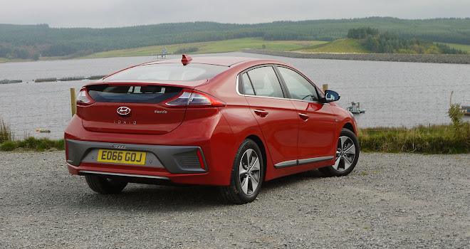 Hyundai Ioniq Electric rear view