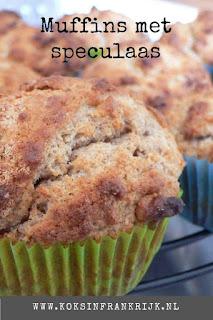 Muffins maken zonder pakje - met speculaaskruiden en amandel