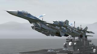 Sukhoi Su-33 (Flanker-D) - Pesawat Tempur Kapal Induk