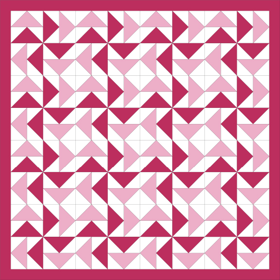 Dutchman's Puzzle Quilt Block Tutorial