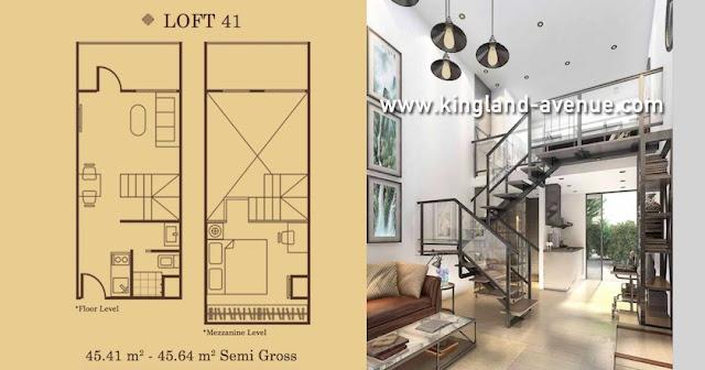 LOFT 41 Apartemen Kingland Avenue Serpong