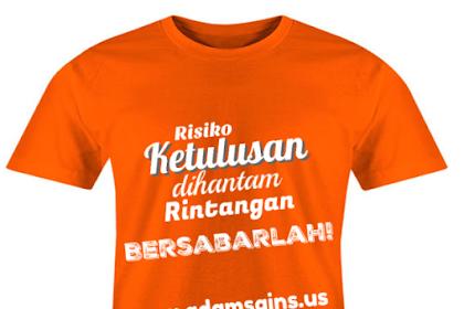 Membangun Branding Blog dengan Merchandise Kaos