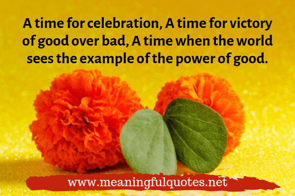 Happy Dussehra quotes for family