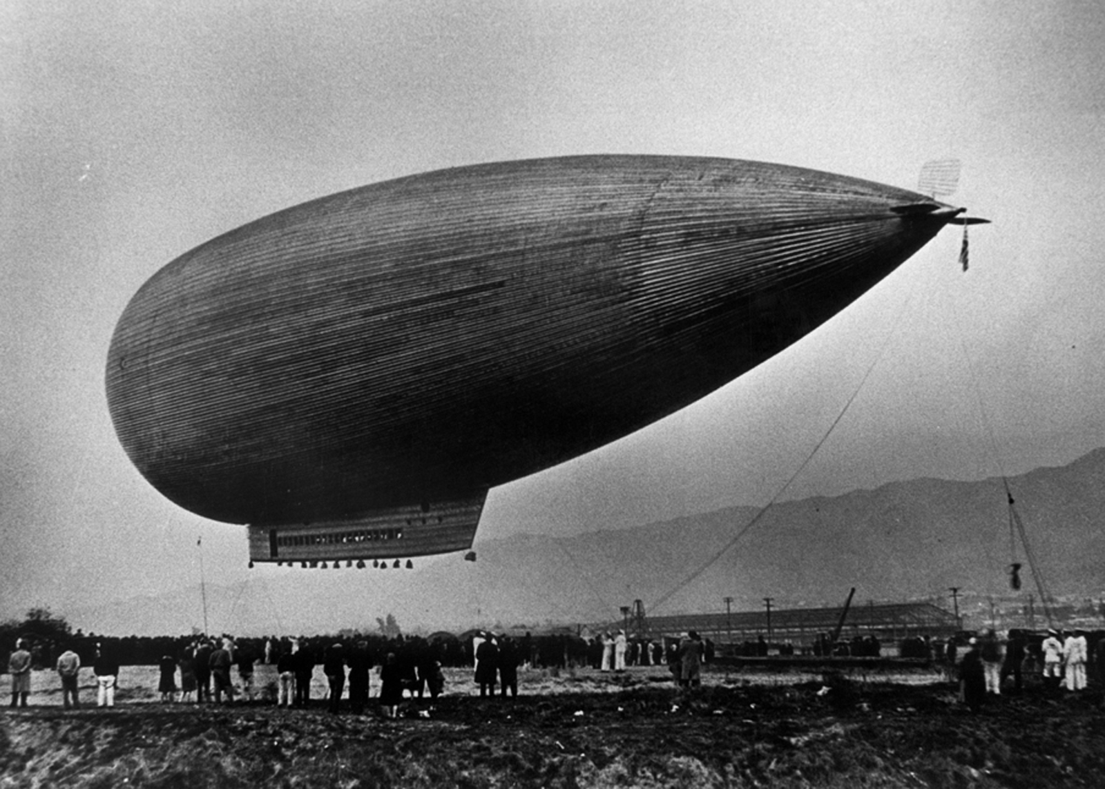 Tropico Station The Glendale Blog A Zeppelin Over