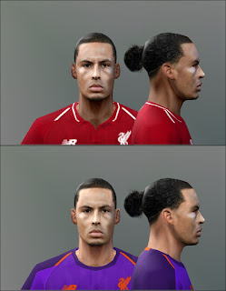 PES 6 Faces Virgil van Dijk by Don_rxf
