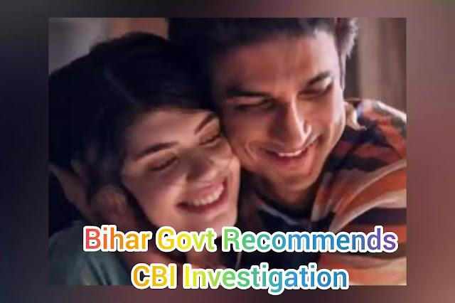 Bihar-govt-recommends-CBI-investigation-into-Sushant-Singh-Rajputs-death-Case