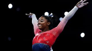 3-Simone Biles wins 15th world title as US claim team Gold