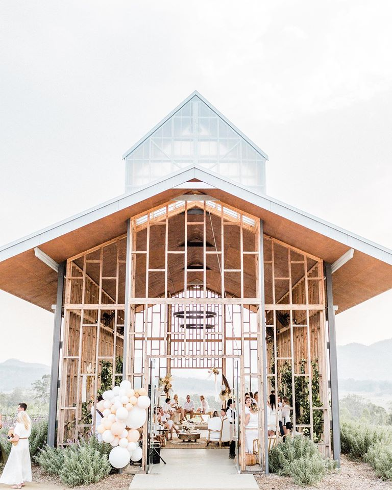 roost film co scenic rim bride wedding venues brisbane gold coast open air chapel
