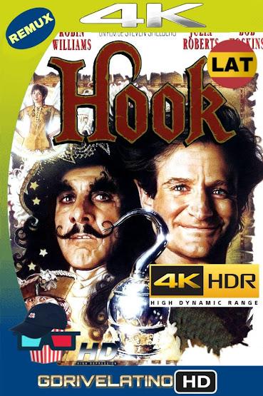 Hook, El Regreso del Capitán Garfio (1991) BDRemux 4K HDR Latino-Ingles MKV