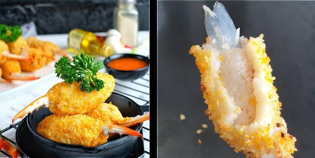 Ingin Makan SEA FOOD UNIK tanpa keluar RUMAH?
