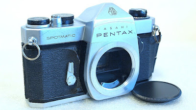 Asahi Pentax Spotmatic SP (Chrome) Body #345