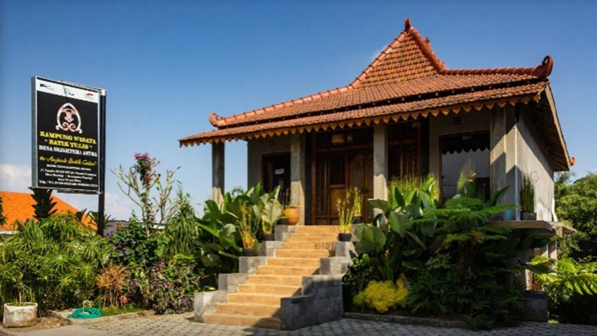 Galeri Batik Bantengan Anjani di Bumiaji