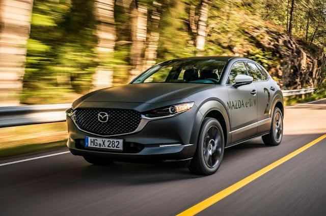 First drive: Mazda EV prototype