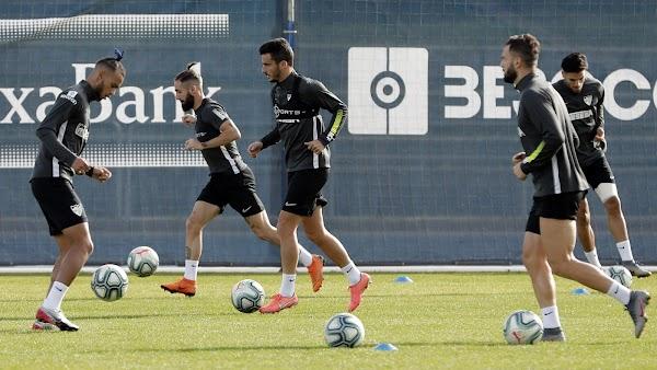 Málaga, hoy entrenamiento y rueda de prensa de Juankar