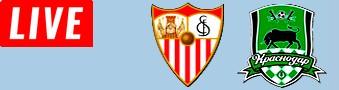 Krasnodar vs Sevilla LIVE STREAM streaming