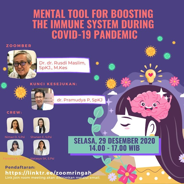 Webinar Mental Tool For Boosting The Immune System During Covid-19 Pandemic