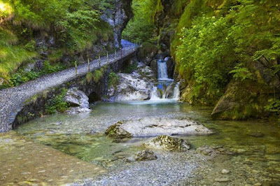 Gite in Lombardia - Cascate di Val Vertova - Bergamo