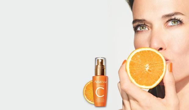 La Vitamina C para el cuidado del rostro