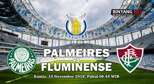 Prediksi Palmeiras vs Fluminense 15 November 2018